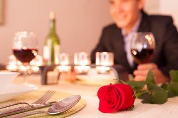 Verführerisches Valentinstagsmenü