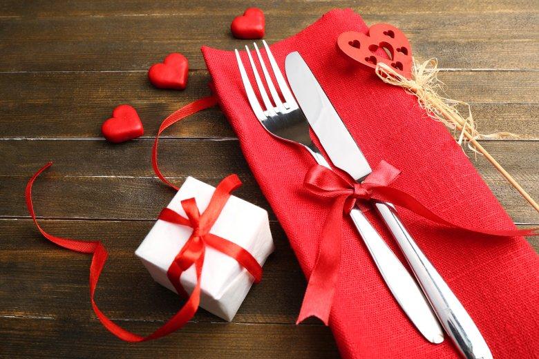 Dieses vegetarische Valentinstagsmenü ist etwas Besonderes.
