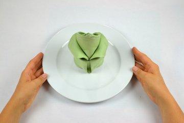 Tulpe falten