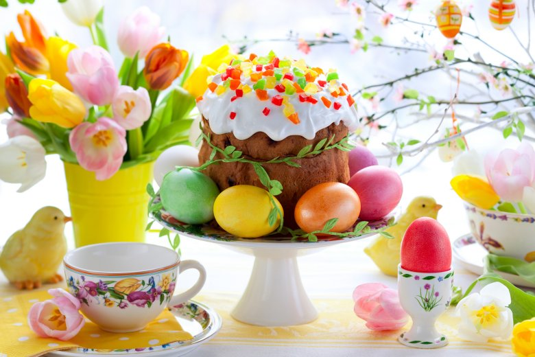 Ostern ist das Fest der Freude und das spiegelt sich auch in den Gerichten wieder.