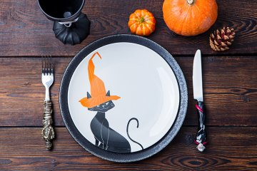 Halloweenmenü für Kinder