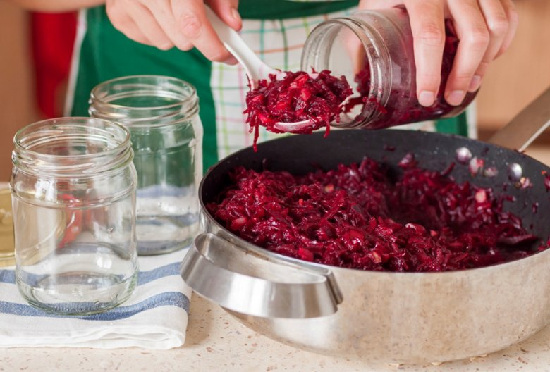 Rote-Bete-Relish