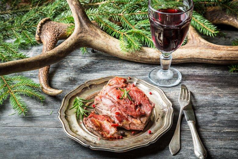 Wildfleisch schmeckt sehr gut und ist sehr gesund.