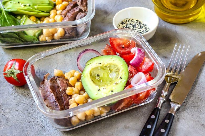Immer neu und anders können Zutaten bei Meal Prep kombiniert werden.