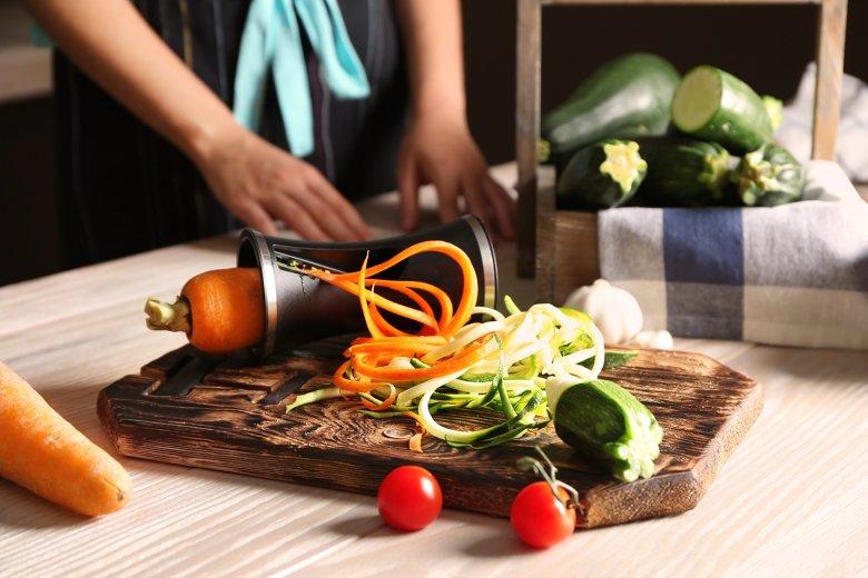 Zoodles sind die Low Carb Alternative zu Pasta.