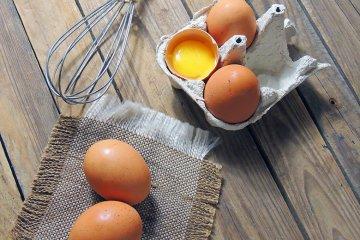 Eier in der Küche