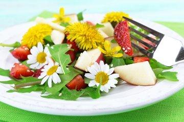 Essbare Blüten - es wird richtig bunt auf dem Teller