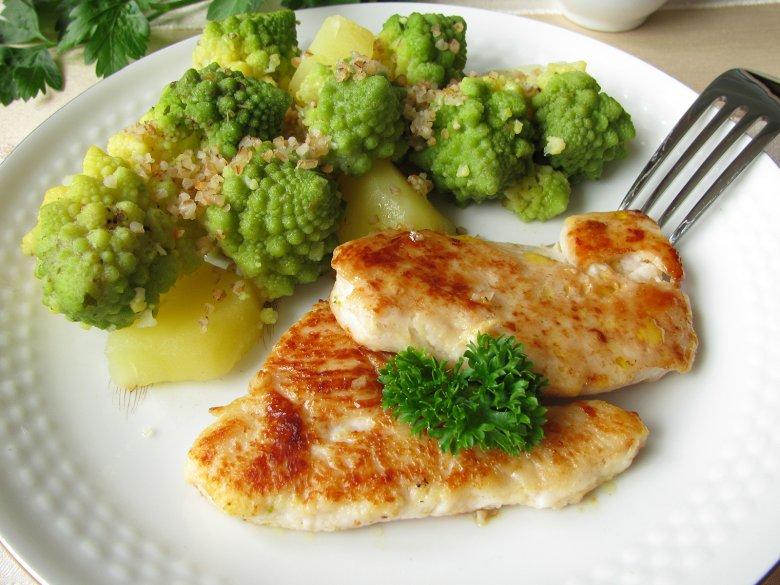 Der Romanesco ist kalorienarm und passt gut zu einer leichten Küche.