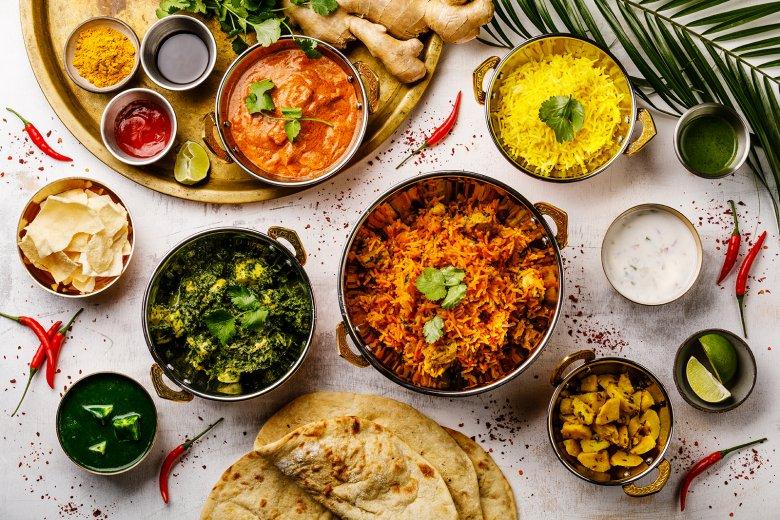 Die Indische Küche ist reich an Farben, Gewürzen und Aromen.