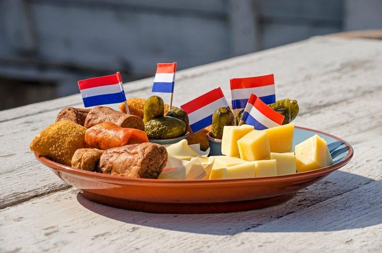 Die niederländische Küche ist sehr vielfältig und schmackhaft.
