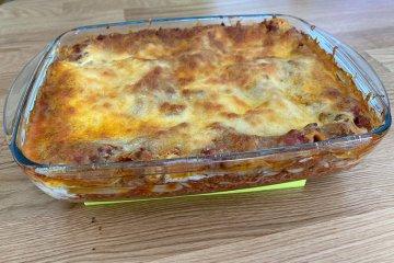 Einfache Lasagne