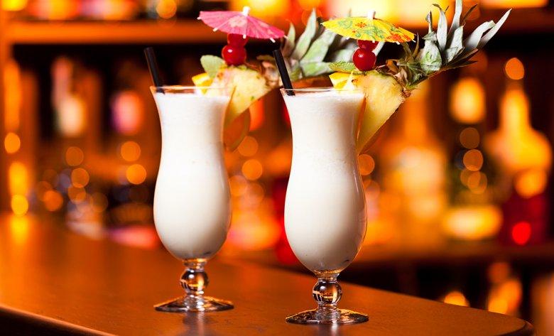 Die Dekoration macht den Cocktail zu etwas Besonderem.