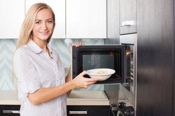 Kochen mit der Mikrowelle