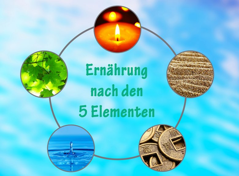 Der Körper soll durch die Ernährung nach den 5 Elementen in Harmonie mit Geist und Seele gebracht werden