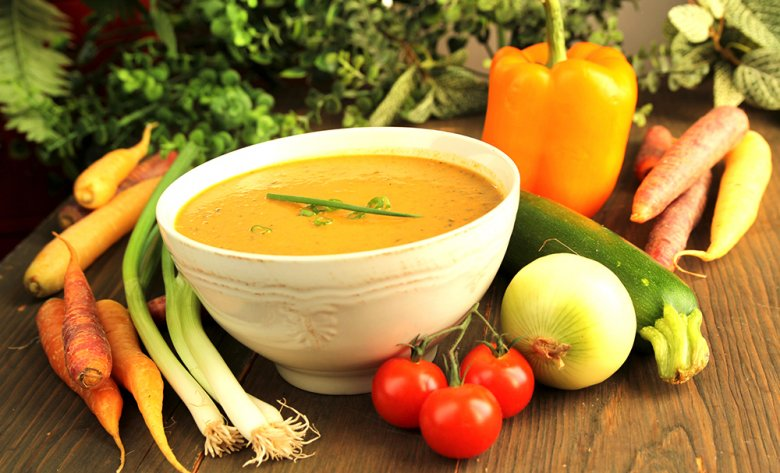 Laut Ernährung nach den fünf Elementen sollten alle Lebensmittel in gekochter Form verzehrt werden.