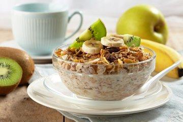 Müsli für ein gesundes Frühstück