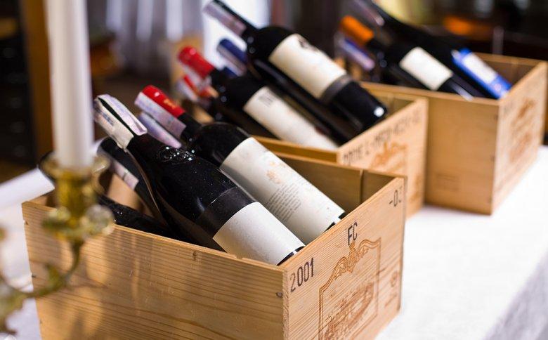 Teure Weine punkten durch ihre gute Qualität.