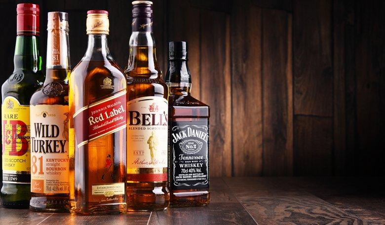 Vor allem beim Whiskey gibt es große Geschmacksunterschiede.