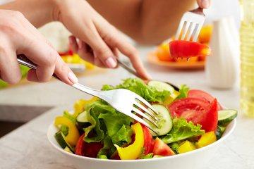 Essen Sie sich fit und gesund