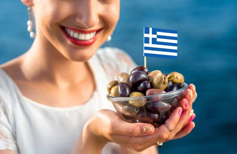 In Griechenland wird unter anderem gerne mit Oliven und Olivenöl gekocht.