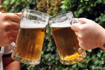 Umgang mit Bier