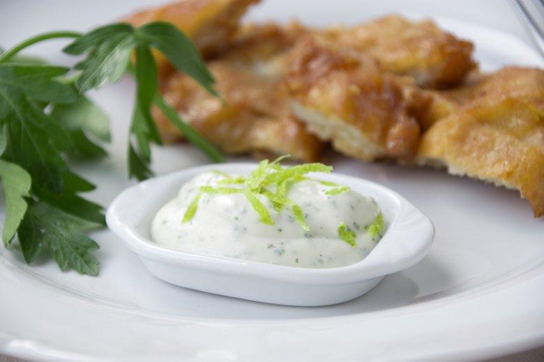 Limetten-Kräuter-Dip
