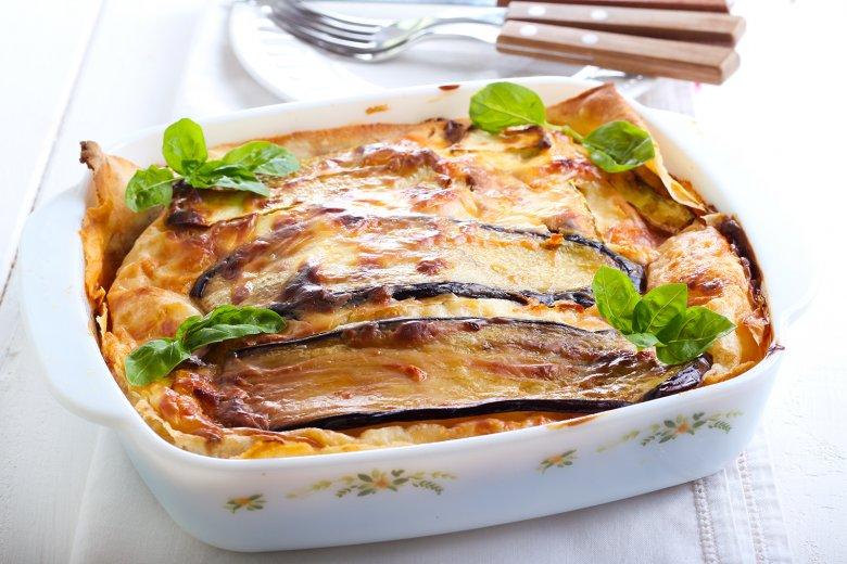 Lasagne mit Aubergine