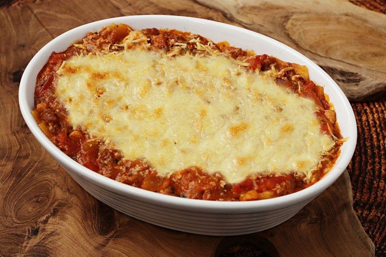 Lasagne ohne Béchamel