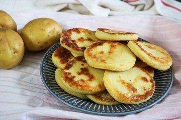 Kartoffelpuffer ohne Reibe