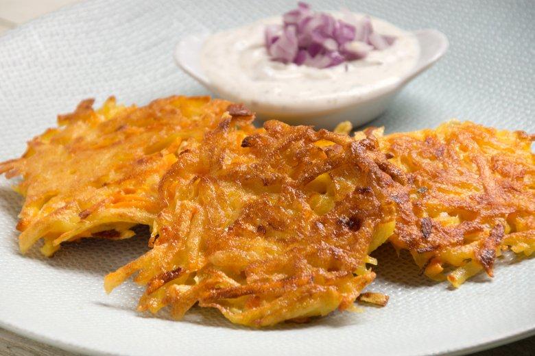 Kartoffelpuffer mit Möhren