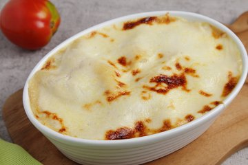 Spinat-Lachs-Lasagne