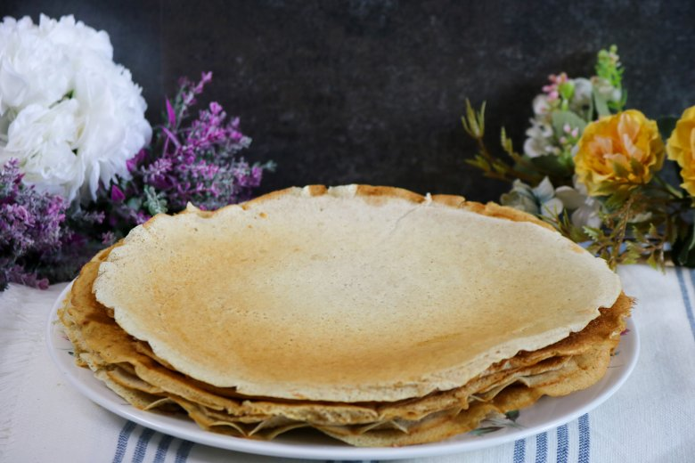 Vegane Pfannkuchen aus Dinkelvollkorn