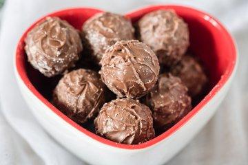 Schokolade-Trüffel