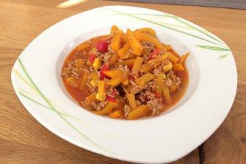 Chili con Carne mit Kürbis