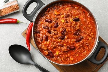 Chili con Carne schnell und scharf