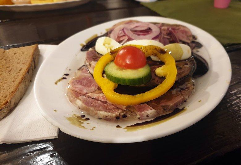 Saure Presswurst