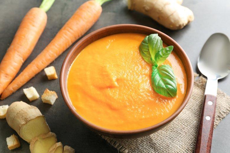 Ingwer-Möhren-Suppe