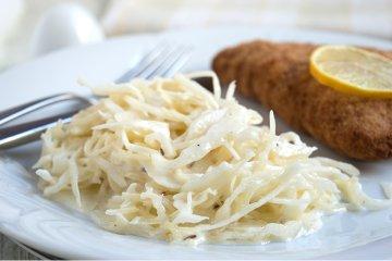 Krautsalat mit Sahne