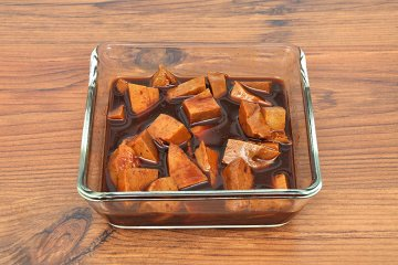 Deftig marinierter Tofu