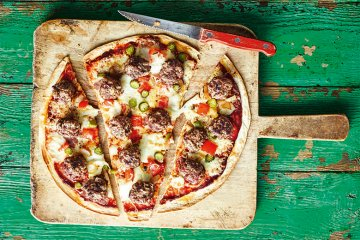 Cheeseburger-Pizza