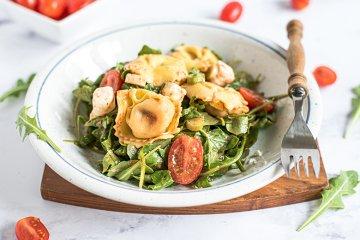 Tortellini-Salat mit Feta
