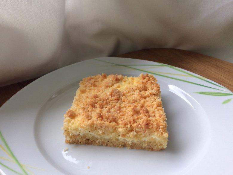 Streuselkuchen mit Quark