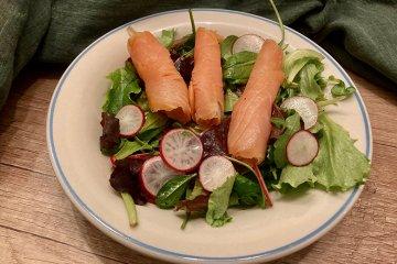 Lachs-Radieschen-Salat