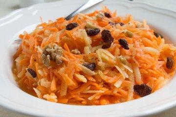 Karottensalat mit Honig