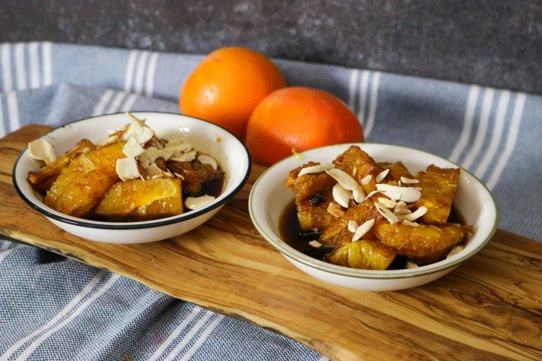 Veganes Orangen-Kompott