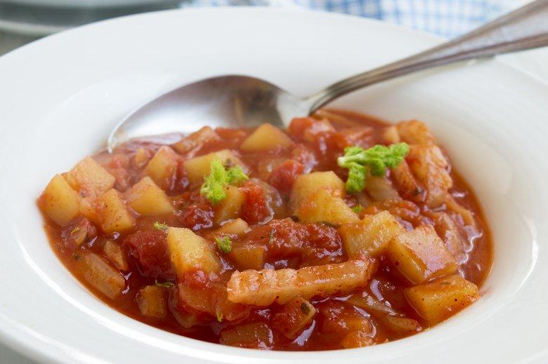 Tomatensuppe mit Fenchel