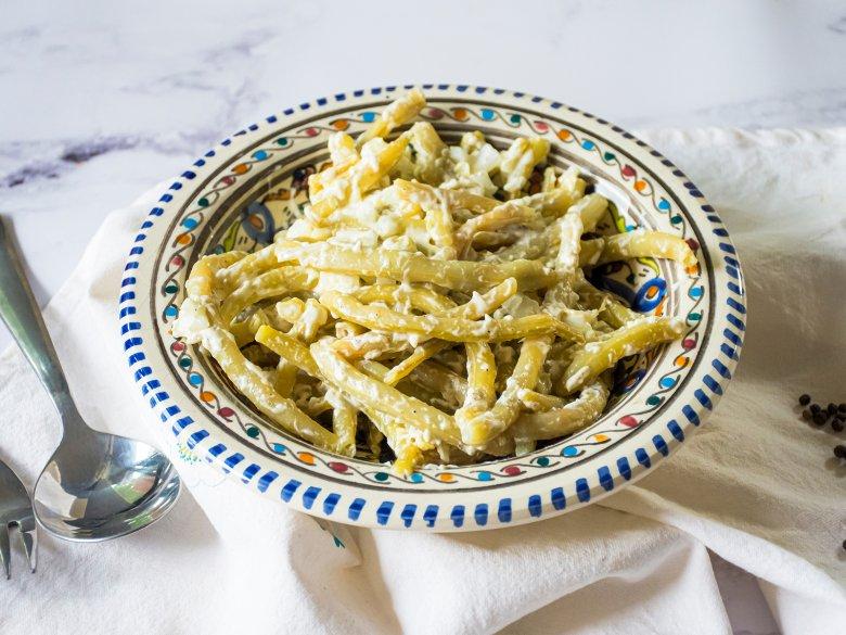 Bohnensalat mit Sahne