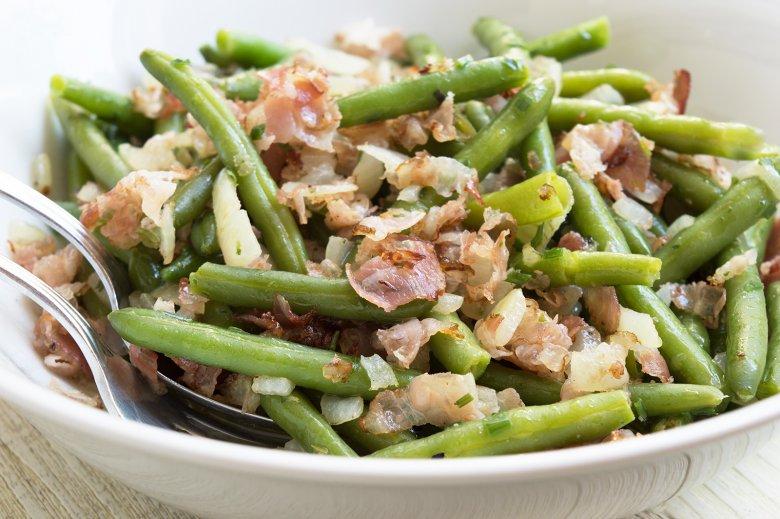 Bohnensalat ohne Essig