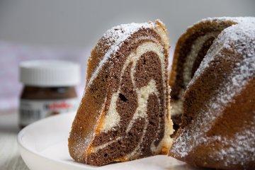 Nutella-Marmorkuchen