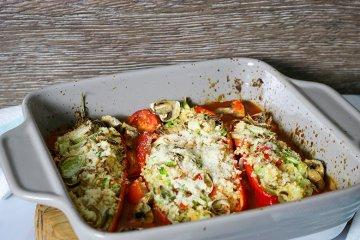 Spitzpaprika mit Couscous
